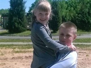 Даниил и Каролина Короленок