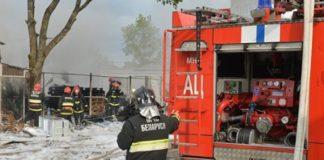 Пожары в Минской области.