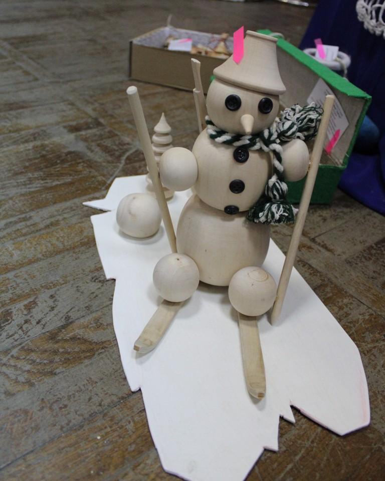 Вось такі снегавік.