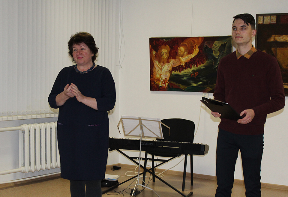 Ирина Супранович – поклонница таланта мастера.