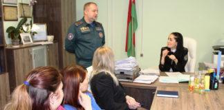 С 28 января ежедневно проводятся встречи в трудовых коллективах и организациях города.