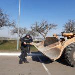 7. Коллектив КЗТШ активно включился в работы по наведению порядка на прилегающих территориях.